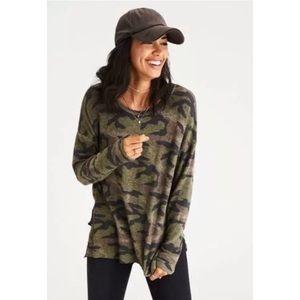 American Eagle Soft & Sexy Camo Sweatshirt XL
